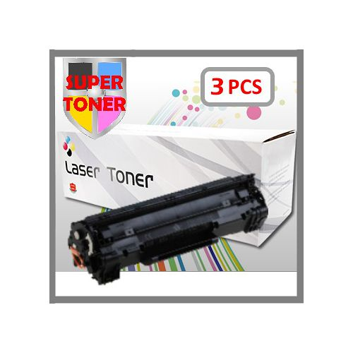 【SUPER】HP CE285A環保相容碳粉匣(3支1組)優惠包