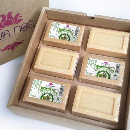 【Emma Noel 艾瑪諾耶】法國皇室綠白雙星馬賽皂禮盒組