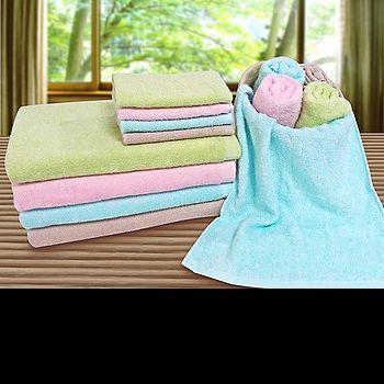 素色輕柔方巾-粉/卡其/水藍/綠(33*35cm)