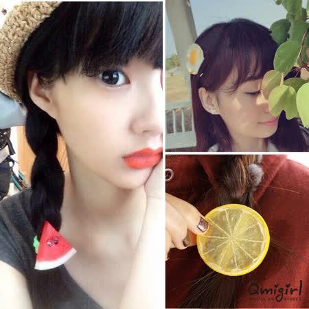 【PS Mall】 森林系可愛水果檸檬西瓜髮飾 (G1780)