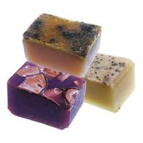 菠丹妮 蘋果黑莓手工皂80g+奇異果萊姆手工皂80g+蜂蜜手工皂80g