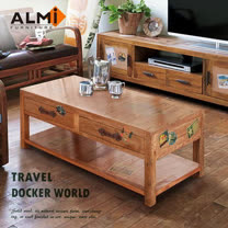 【ALMI】DOCKER WORLD- DOBW COFFEE TABLE 四抽咖啡桌