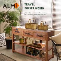 【ALMI】DOCKER WORLD- DOBW CONSOLE TABLE 三抽置物櫃