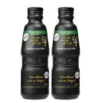 【法國艾米爾諾耶】100%冷壓初榨亞麻仁油2瓶組(250ml/瓶)