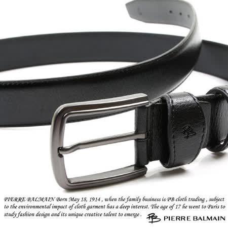 PB-皮爾帕門-質感二層牛皮休閒皮帶P865008