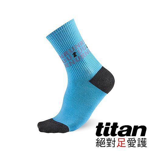 Titan抗菌活力新竹 市 愛 買襪-藍