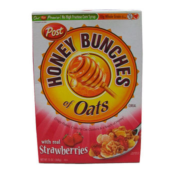 POST蜂蜜燕麥+草莓13 oz/盒