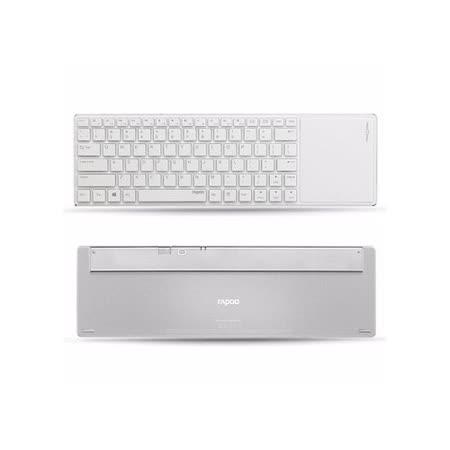 Rapoo 雷柏 E6700-金 藍芽超薄觸控式鍵盤