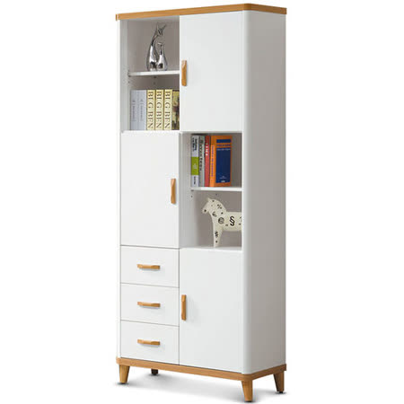 MY傢俬 北歐趣現代設計2.6尺書櫃