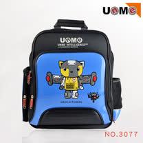 【UnMe】Robot飛天機器人後背書包(藍色)