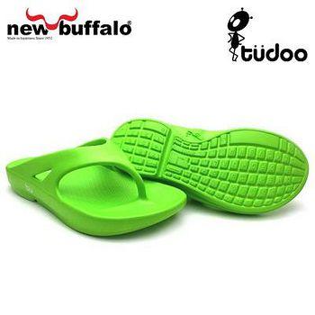 new buffalo 土豆星球tudoo動態平衡人字拖-格林號 (綠)