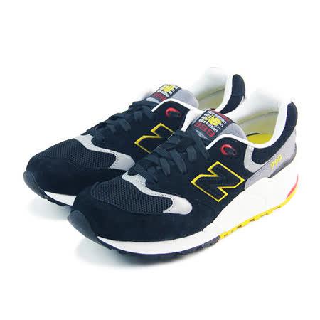 (男女)NEW BALANCE 復古鞋 黑/黃-ML999PB