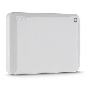 TOSHIBA 2.5吋1TB美型碟USB3.0 V8_白