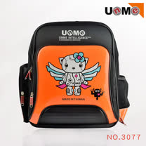 【UnMe】Robot飛天機器人後背書包(橘色)