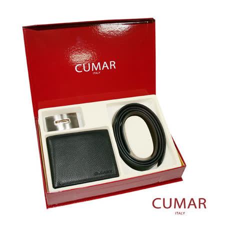 CUMAR皮帶皮夾禮盒組0596-16901-15