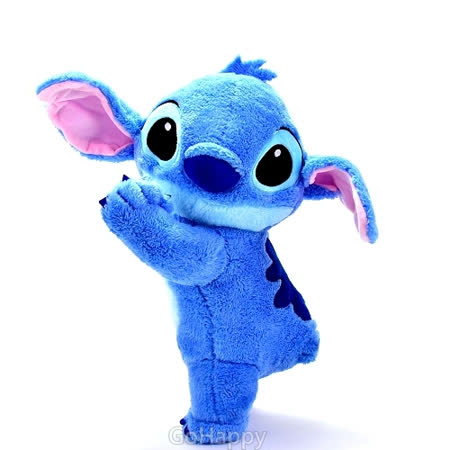 Disney【慵懶史迪奇】絨毛玩偶