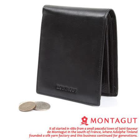 MONTAGUT夢特嬌 - 5卡3照1長拉鍊2夾 真皮皮夾830003