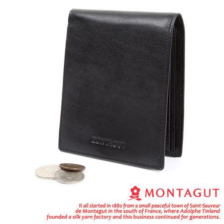 MONTAGUT夢特嬌 - 5卡3照2夾 真皮皮夾830004