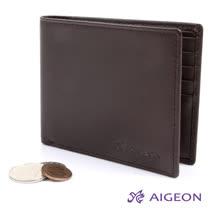 AIGEON愛雋-【絕版品皮夾】10卡2夾 皮夾101003
