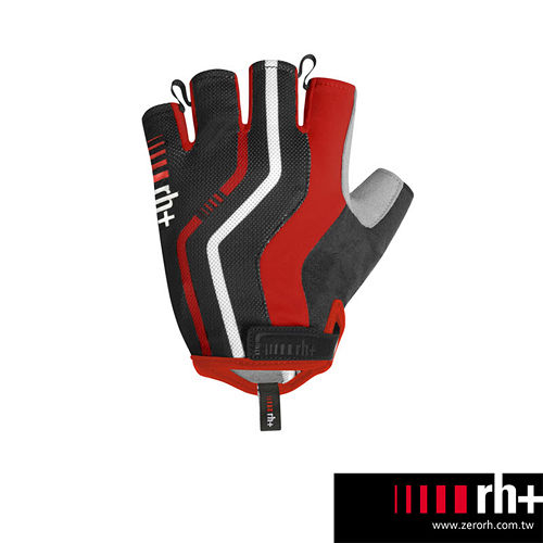 ZeroRH 義大利SPRINT 自行車半指手套 ~黑色、黑紅~ ECX9089