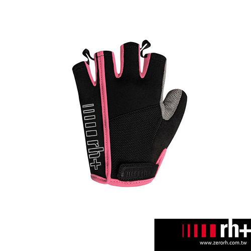ZeroRH 義大利 女用自行車半指手套 ~黑色、黑粉~ ECX9059