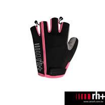 ZeroRH+ 義大利專業女用自行車半指手套 ●黑色、黑/粉● ECX9059