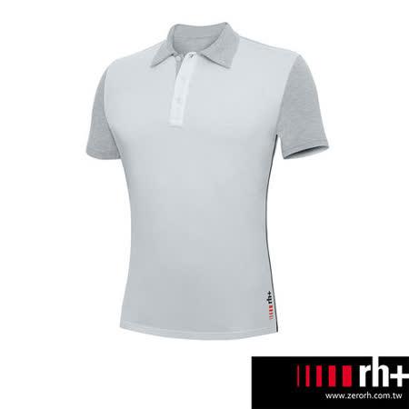 ZeroRH+ 義大利SMARTY休閒POLO衫(男) ●黑色、灰色● SSWU155