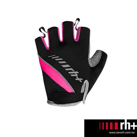 ZeroRH+ 義大利專業女用自行車半指手套 ●黑色、黑/粉● ECX9060