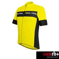 ZeroRH+ 義大利ACADEMY專業自行車衣(男) ●黑色、黃色、白色、紅色● ECU0306