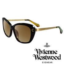 Vivienne Westwood 英國薇薇安魏斯伍德經典LOGO金邊太陽眼鏡(綠)