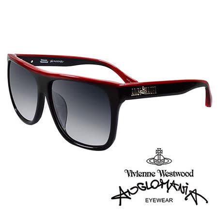 Vivienne Westwood 英國Anglomania太陽眼鏡★英倫時尚經典LOGO造型★(黑紅)