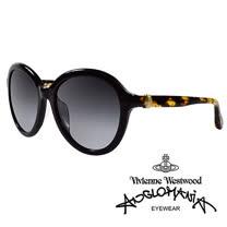 Vivienne Westwood 英國Anglomania太陽眼鏡★立體龐克多邊形土星款★(琥珀黃)