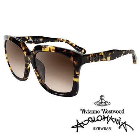 Vivienne Westwood 英國Anglomania太陽眼鏡★英倫龐克經典LOGO造型★(琥珀黃)