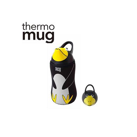 日本品牌 thermo mug 兒童/子供用動物水壺 - 企鵝.