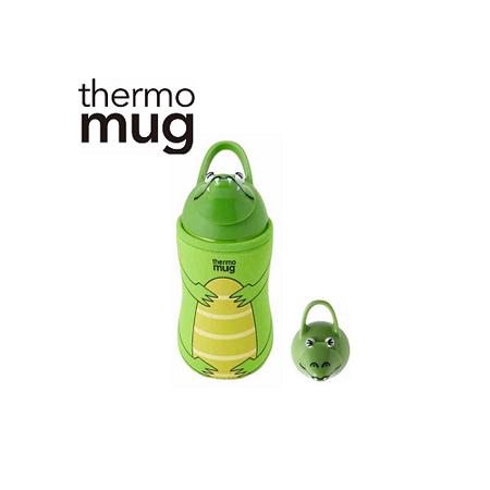 日本品牌 thermo mug 兒童/子供用動物水壺 - 鱷魚.