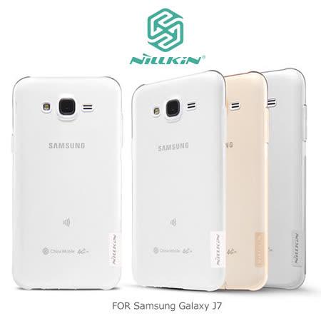 NILLKIN Samsung Galaxy J7 本色TPU軟套