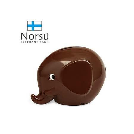 Norsu 北歐雜貨 大象造型 存錢桶 - 咖啡.