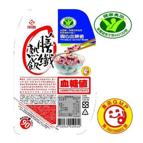 【(衛署健食字第A00133號)南僑膳纖熟飯200gX24盒入】