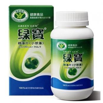 三多綠寶綠藻片(小球藻)360粒X2入 加贈20粒**純素可用