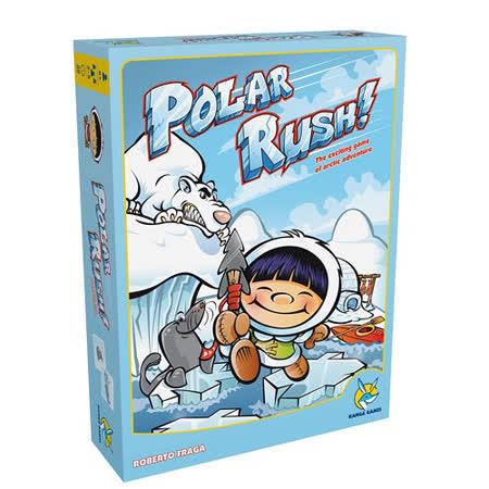 (任選) 諾貝兒益智玩具 歐美桌遊 POLAR RUSH! 中文版遊戲