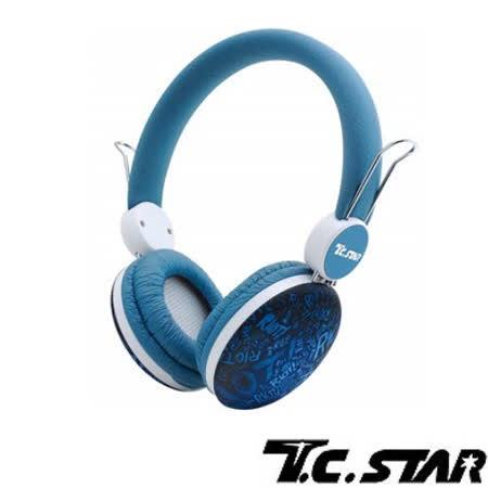 T.C.STAR TCE8768頭戴耳機麥克風
