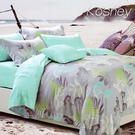 《KOSNEY 戀愛溫度》雙人100%天絲TENCEL六件式床罩組