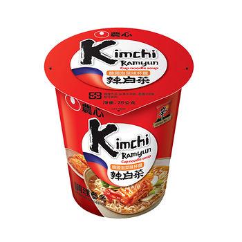 農心韓國泡菜杯麵 75g