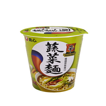農心蔬菜杯麵 65g