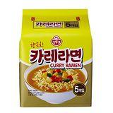 韓國不倒翁咖哩風味拉麵 110g*5