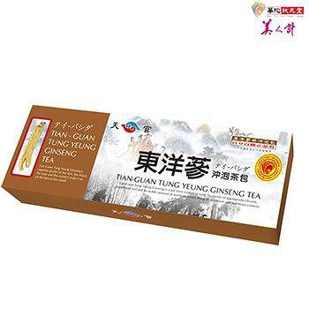 華陀扶元堂 天官東洋蔘沖泡茶包1盒 (20包/盒)