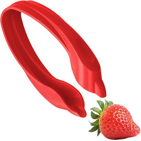 《VACU VIN》水果去蒂器(草莓紅)