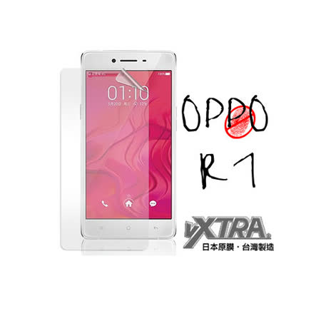VXTRA  OPPO R7 防眩光霧面耐磨保護貼