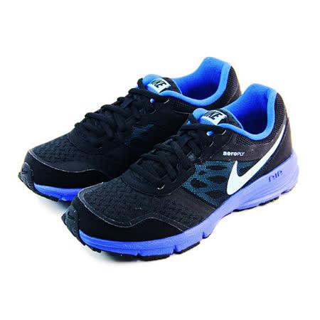 (女)NIKE WMNS AIR RELENTLESS 4 MSL 慢跑鞋 黑/藍-685152013