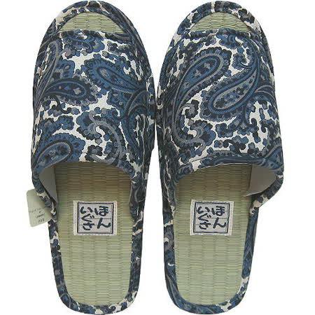 【波克貓哈日網】藺草室內拖鞋◇日本製男用◇《變形蟲圖案》